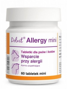Dolvit Allergy mini alergia pies kot 60tab. mini