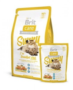 BRIT CARE CAT SUNNY I'VE BEAUTIFUL HAIR - 7kg