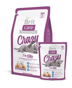 BRIT CARE CAT CRAZY I'M KITTEN - 7kg