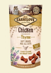 Carnilove Semi-Moist Snack Chicken & Thyme 50g