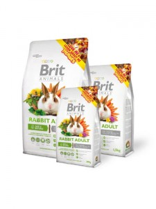 BRIT ANIMALS RABBIT ADULT COMPLETE - 1,5kg