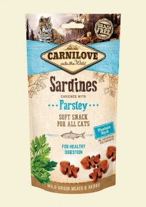 Carnilove Semi-Moist Snack Sardine & Parsley 50g