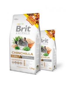 BRIT ANIMALS CHINCHILA COMPLETE - 1,5kg