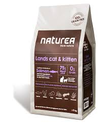 NATUREA Naturals Grainfree LANDS CAT AND KITTEN 350G